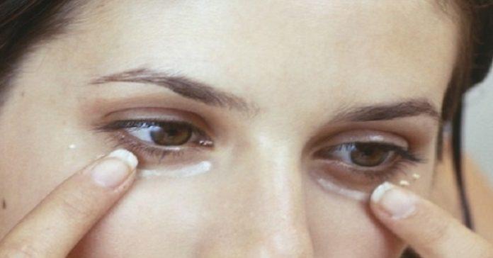kokosolja under ögonen